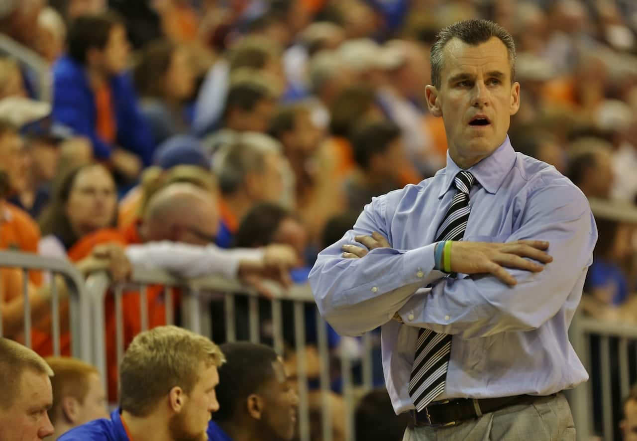 Billy Donovan's Florida Gators are set for their final non-conference game of the season Sunday./ Photo by John Parady