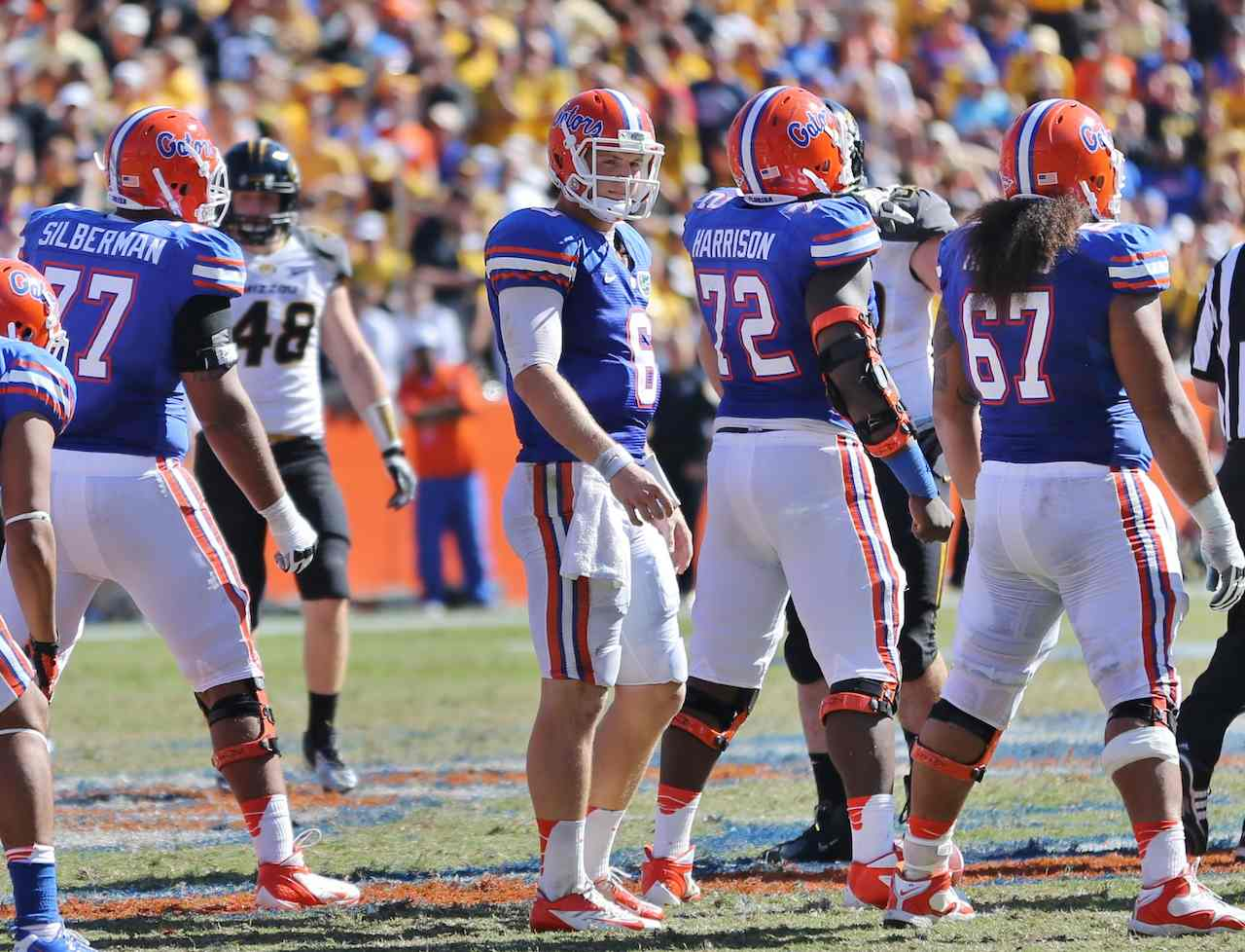 Florida Gators quarterback Jeff Driskel said a 20-18 comeback win at Texas A&M was the turning point in the season. / Gator Country photo by John Parady