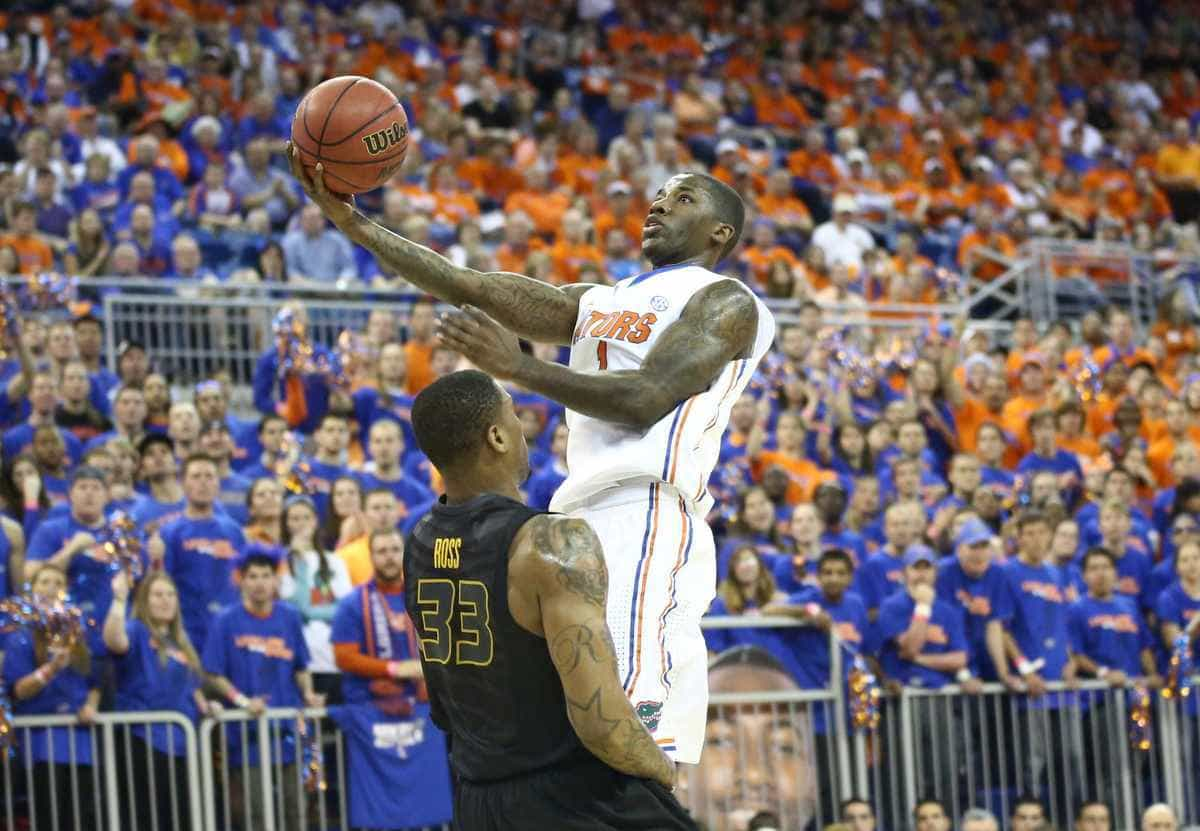 Florida senior guard Kenny Boynton shot 4 of 13 from the field for 11 points in the Gators' 63-60 loss at Missouri on Tuesday. / Gator Country file photo by Curtiss Bryant