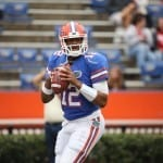 Will former Florida quarterback Jacoby Brissett find greener pastures in 2014 at North Carolina State? / Gator Country photo by Curtiss Bryant