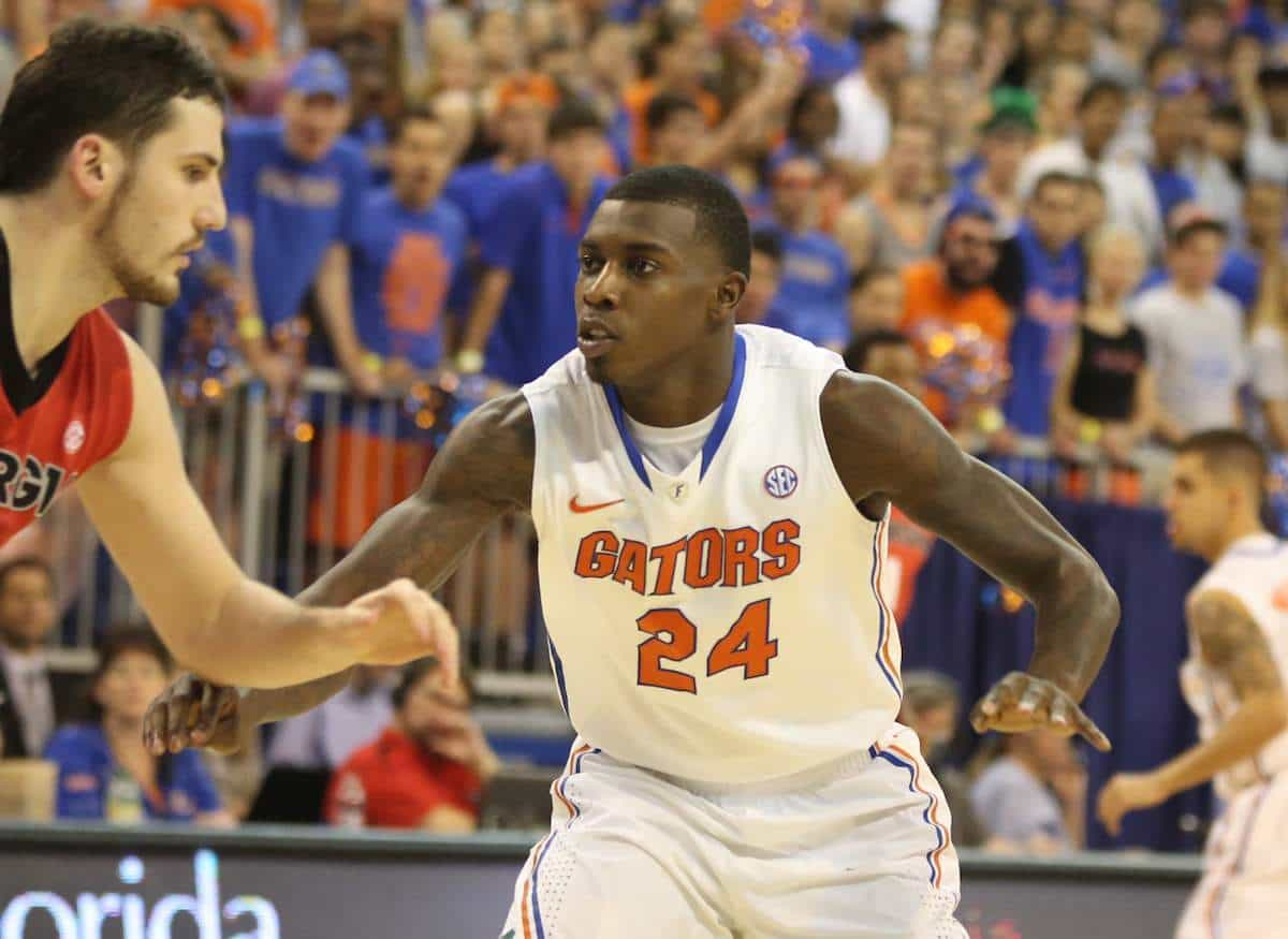 Casey Prather scored the final eight points for the Gators against Memphis / photo by Curtiss Bryant