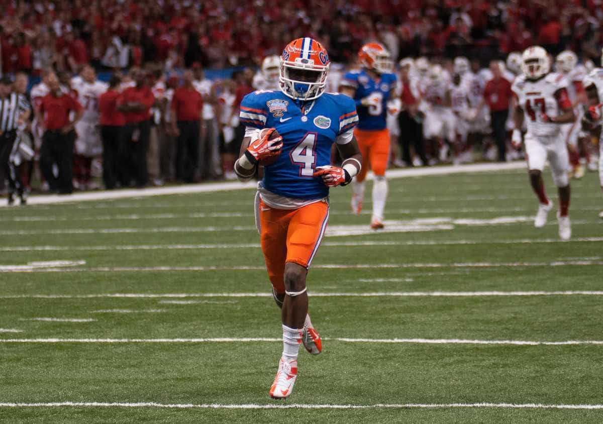 Andre Debose has been granted a sixth year to complete his football eligibility at Florida / Gator Country photo by Saj Guevara