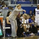Florida coach Amanda Butler / Gator Country photo by Curtiss Bryant