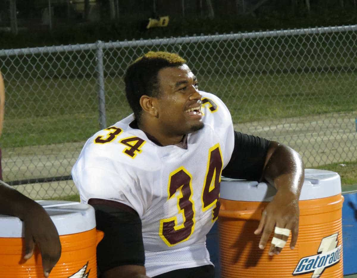 Gators defensive tackle signee Caleb Brantley posted 101 tackles in his senior season at Crescent City. / Gator Country photo by Mike Capshaw