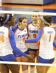 Florida Gators Volleyball defeats Ole Miss