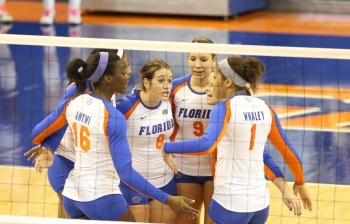 Florida Gators Volleyball defeats Ole Miss