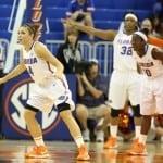 Florida Gators women's basketball player Carlie Needles