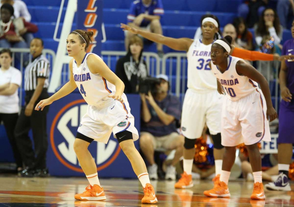 Florida Gators women's basketball player Carlie Needles