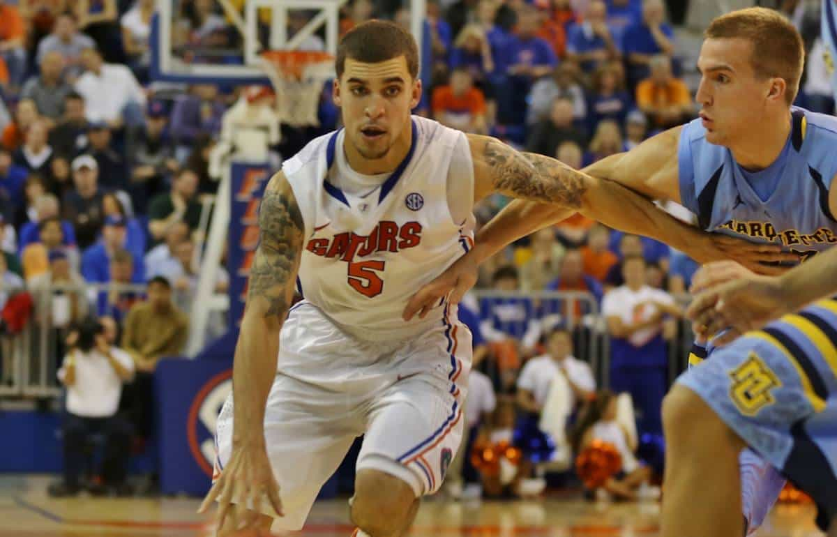 Scottie Wilbekin and the Florida Gators prepare for their final non-conference test. / Gator Country photo by John Parady