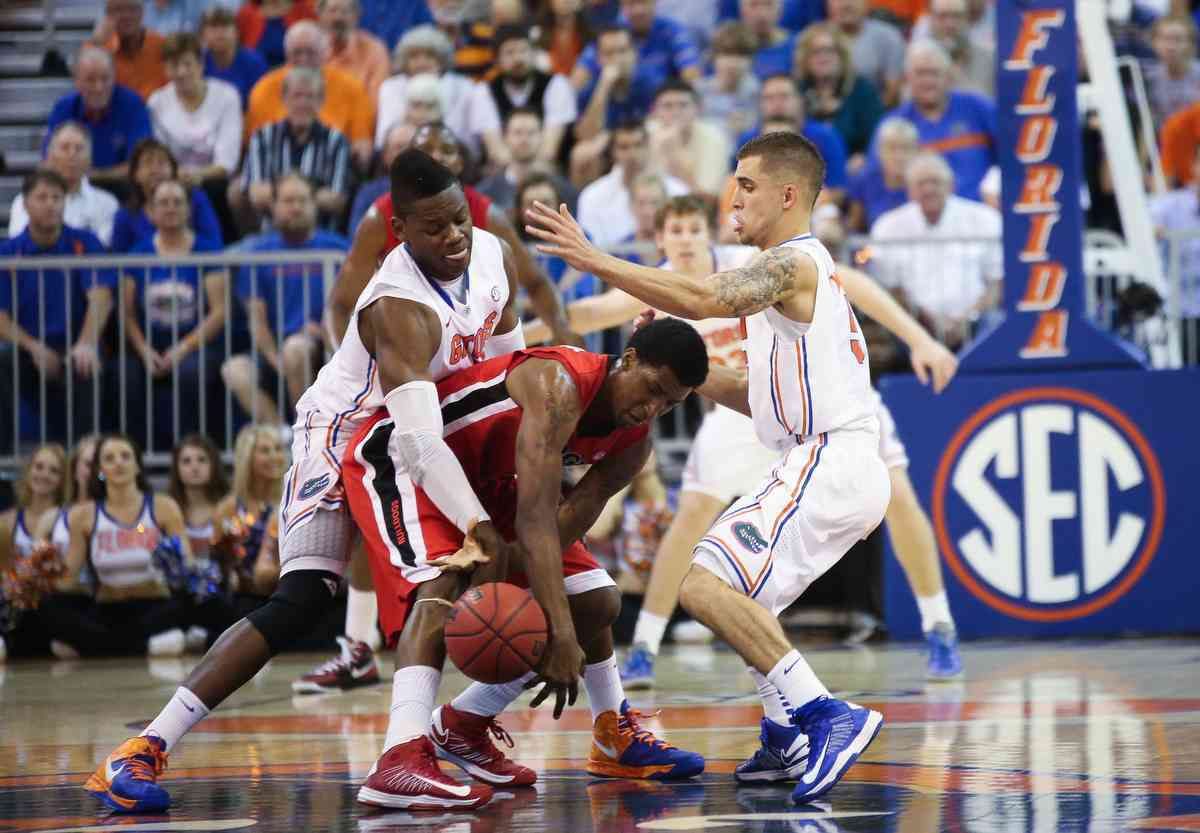 Scottie Wilbekin has led the Gators defensively this season./ Gator Country photo by Curtiss Bryant
