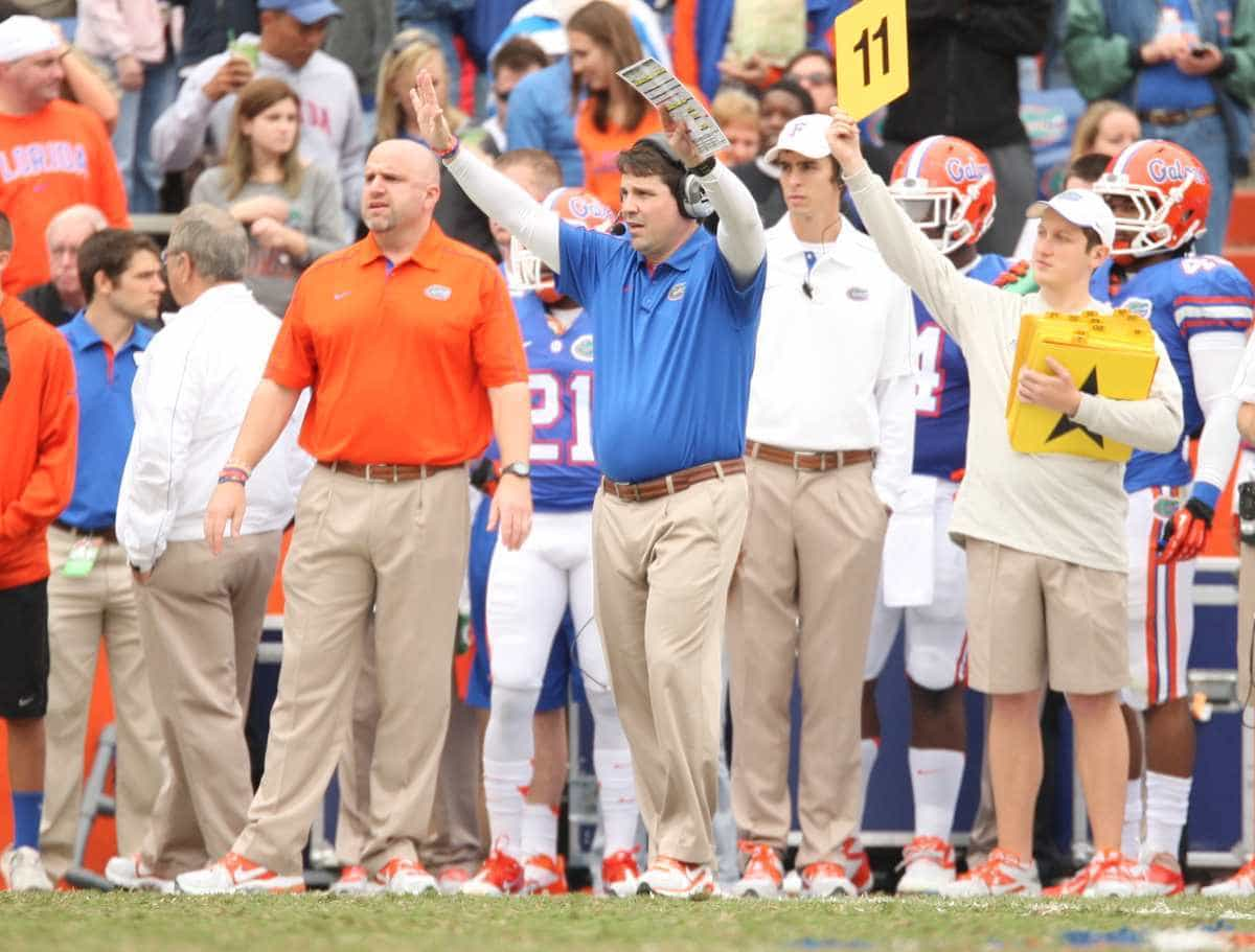 Will Muschamp's football philosophies aren't much different from those of Vince Lombardi. / Gator Country photo by Curtiss Bryan
