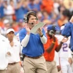 Florida coach Will Muschamp begins the search for a defensive assistant. / Gator Country photo by Curtiss Bryant