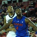 Patric Young has been the best defender in the SEC in the pre-conference portion of the schedule / Gator Country photo by Sonny Kennedy