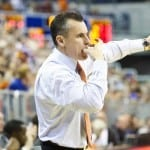 Billy Donovan got good second half production as Florida knocked off Middle Tennessee State  / Gator Country photo by Curtiss Bryant