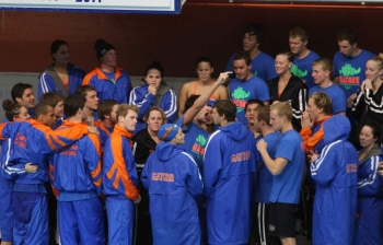 Florida Gators swimming & diving win SEC Championship