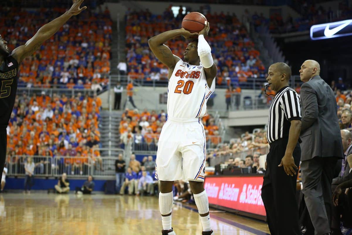 Michael Frazier's three 3-pointers in the second half helped lift Florida past Richmond.