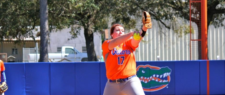 Florida Gators softball defeats Hampton 17-0