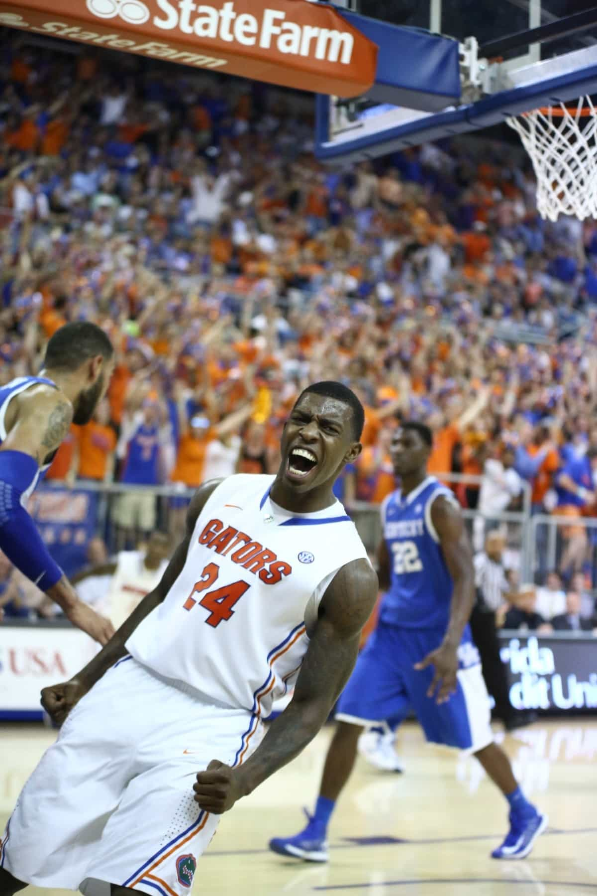 Casey Prather's play has given the Florida Gators plenty to shout about so far this season.