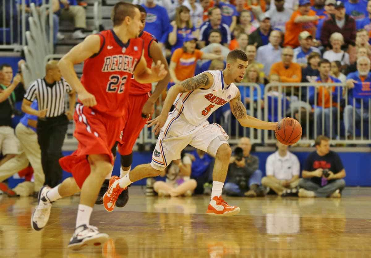 Scottie Wilbekin remains suspended but apparently the end is in sight / Gator Country photo by John Parady
