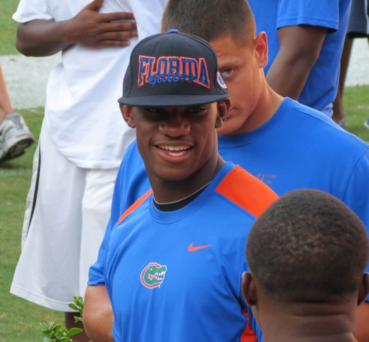 Gators safety signee Nick Washington helped recruit other 2013 prospects for Florida's class, including Ahmad Fulwood and Marcell Harris. / Gator Country photo by Mike Capshaw