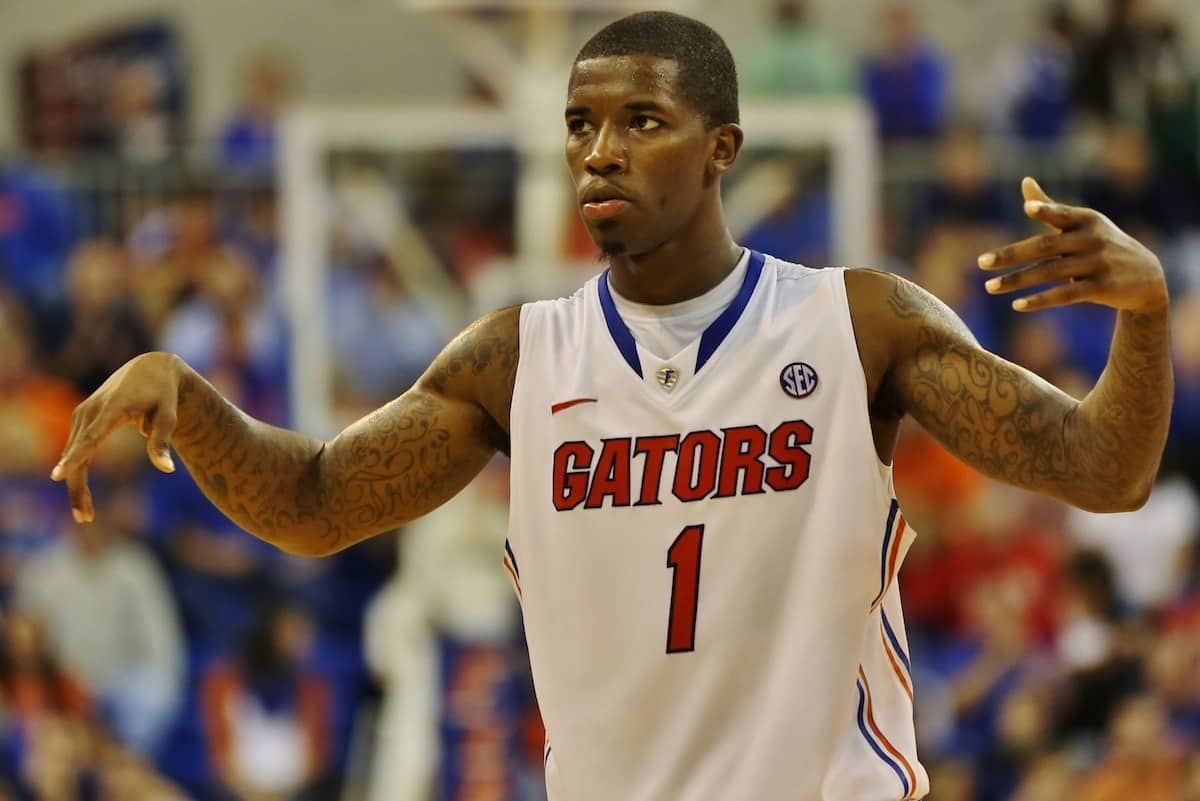 Florida Gators senior guard Kenny Boynton against Wisconsin.