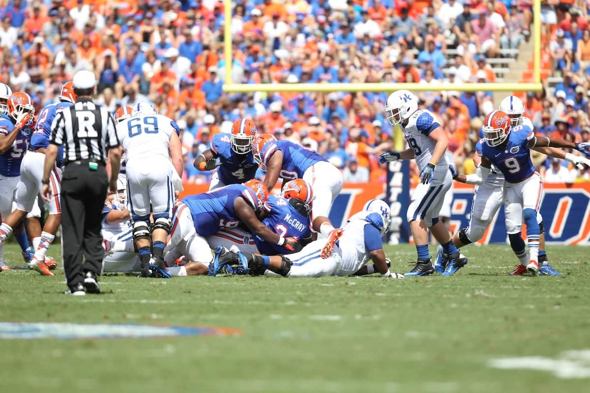 Florida Gators football looks to shore up an interior line that will look completely different in 2013.