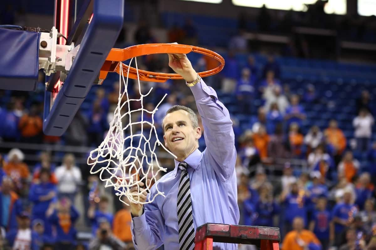 Billy Donovan will have another chance to cut down the nets / Gator Country file photo