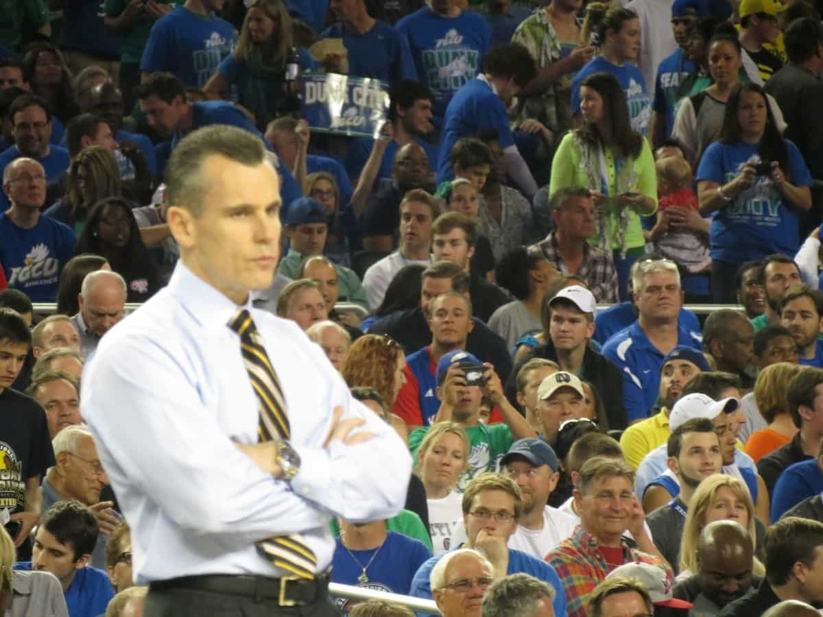 Billy Donovan wants his team to play as a collected unit. / Gator Country photo by David Bowie