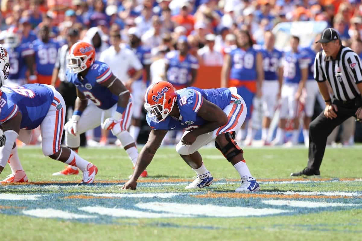 Florida defensive tackle Dominique Easley.