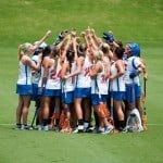 Florida Lacrosse Team during the Gators' 6-4 NCAA 1st round win against the University of Albany on Saturday, May 12, 2012 at the Donald R. Dizney Stadium in Gainesville, Fla. / Gator Country photo by Saj Guevara