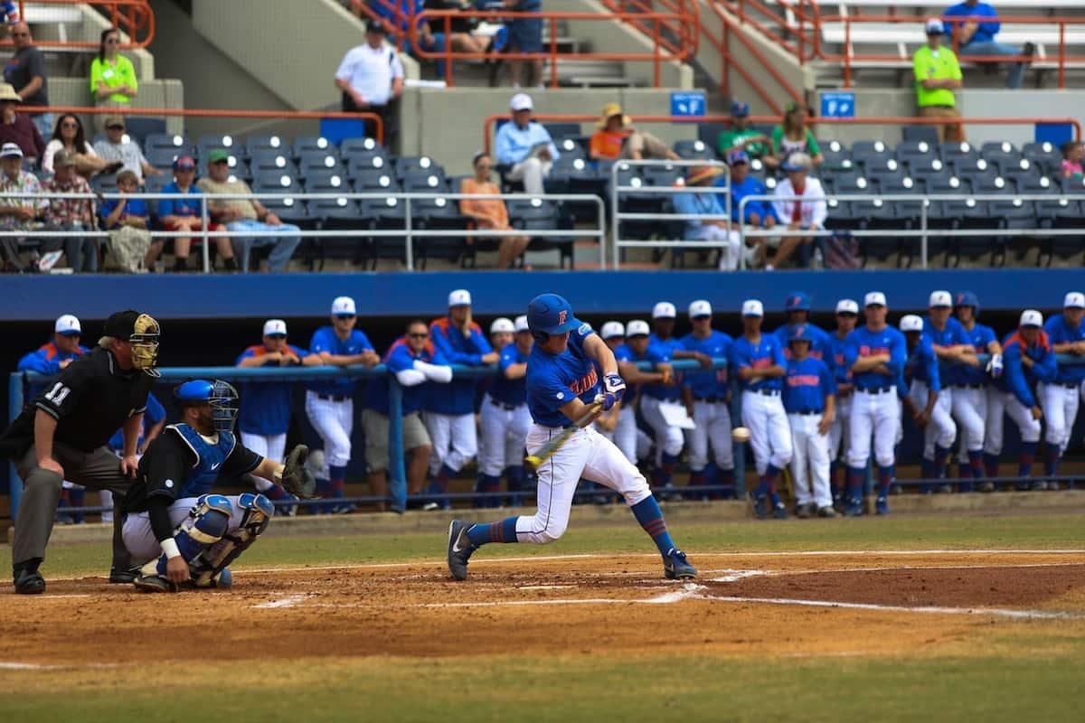 Hitting_WesHall_03172013_Florida_Gators_Baseball