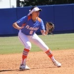 Gator shortstop Kathlyn Medina. \Gator Country photo by Danielle Bloch.