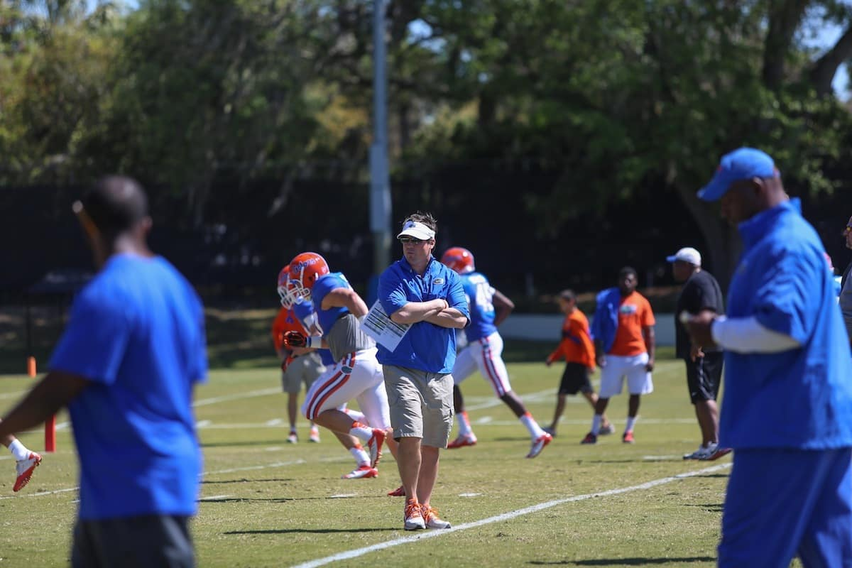 Muschamp_Will_spring_03162013_Florida_Gators_Football