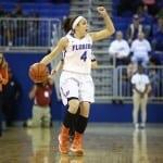 Florida Gators women's basketball player Carly Needles
