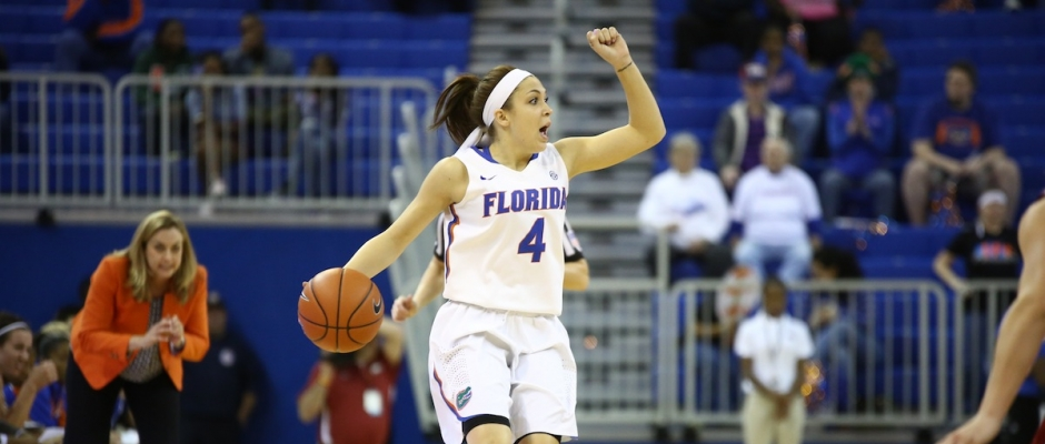 Florida Gators women's basketball defeats #11 Tennessee