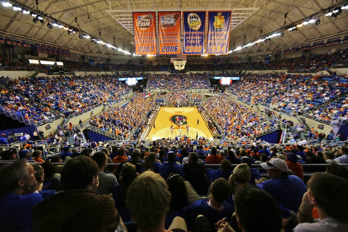 The sold out O'Dome during Florida's win over Ole Miss. Gator Country photo courtesy of John Parady