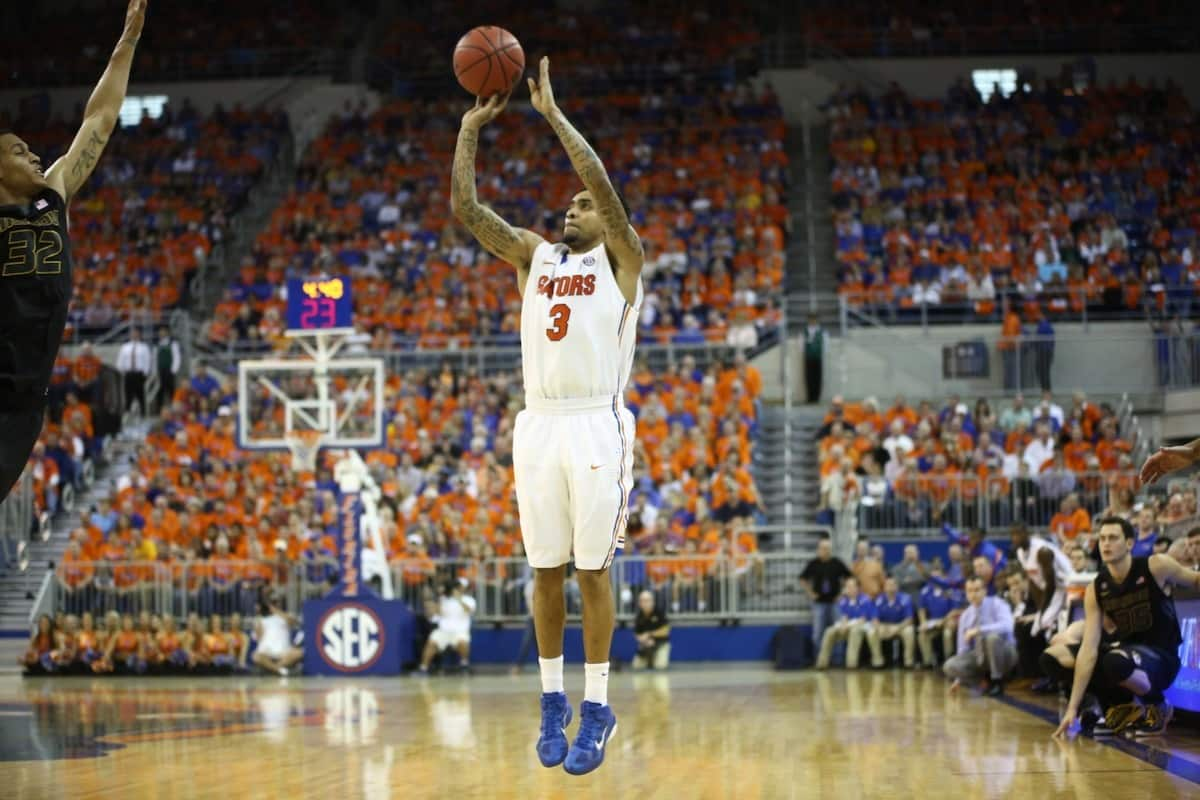 Florida Gators' Mike Rosario. \Gator Country photo by Curtiss Bryant.