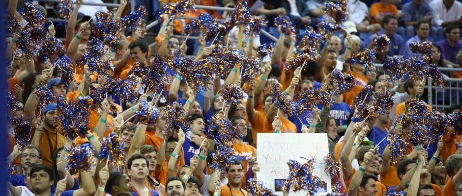 Gators will play in two hostile environments