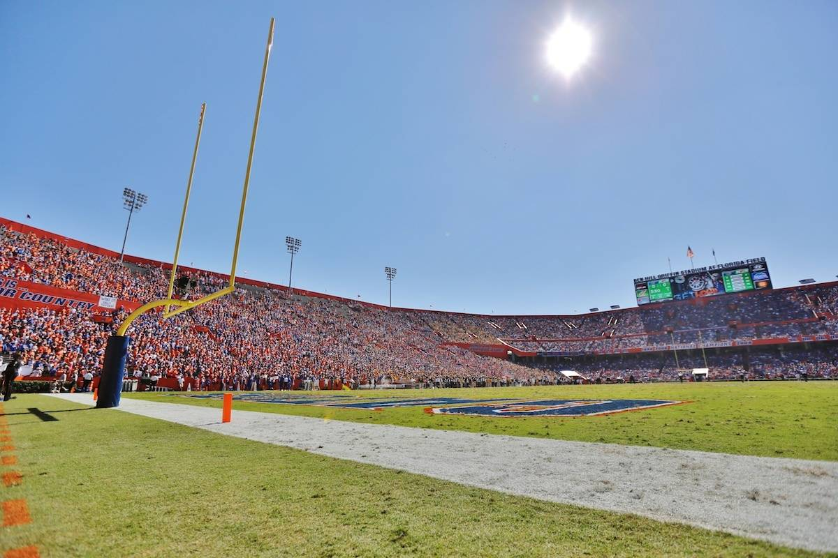 The Swamp, home of the Florida Gators football team.
