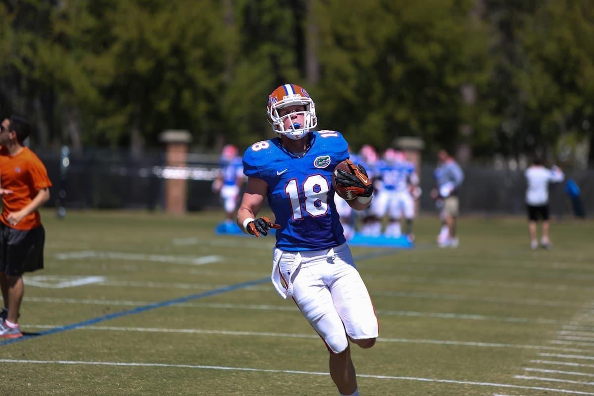 Taylor_Kent_catch_03162013_Florida_Gators_Football