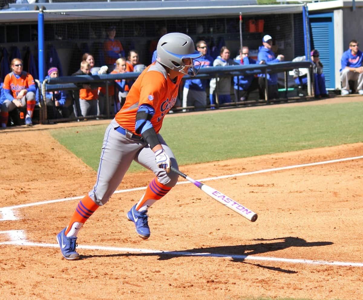 Florida Gators' softball player Stephanie Tofft photo courtesy of Danielle Bloch.