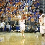 Scottie Wilbekin (5) is Florida's second leading scorer at 12.6 points per game / Gator Country Photo by John Parady