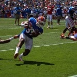 Florida Gators' walk-on running back Mark Herndon. \Gator Country photo courtesy of Wes Hall.