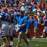 Muschamp_Will_walk_04062013_WesHall_Florida_Gators_Football