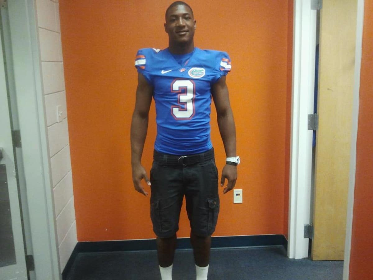 Florida Gators football recruit Freddie Phillips. \Photo courtesy of Phillips family.
