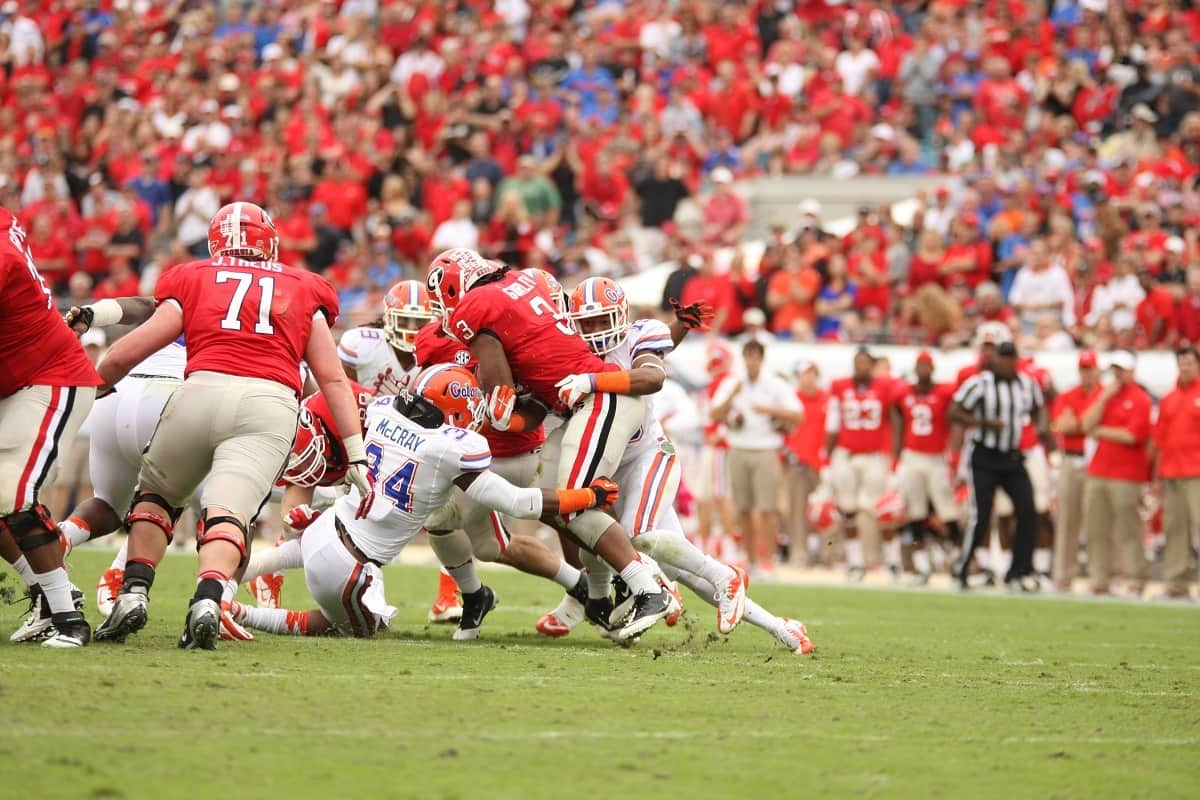 Gurley_Todd_tackled_10232013_Florida_Gators_Football