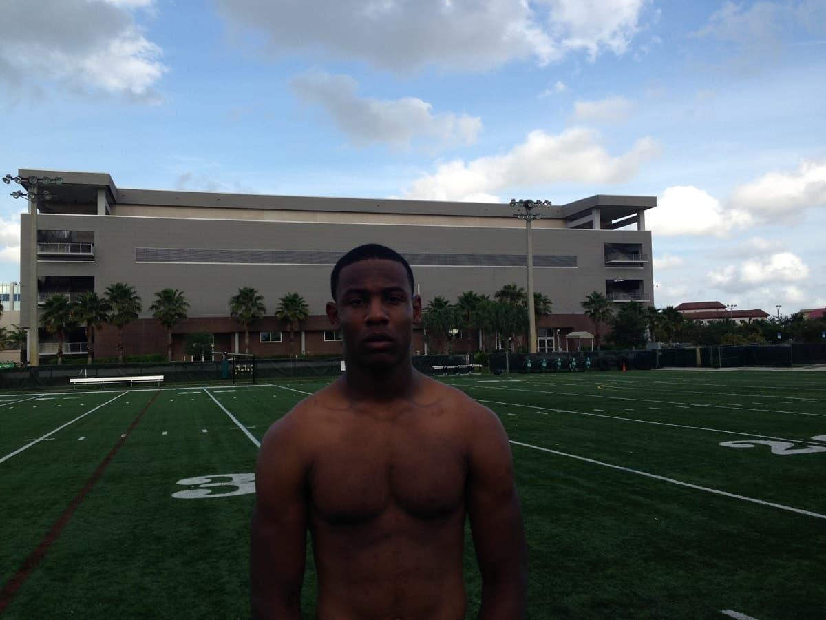 Fort Lauderdale (Fla.) University School linebacker Richard Yeargin III