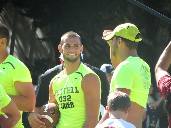 Will Grier competes at the 2013 Elite 11.  Photo by: Nick de la Torre