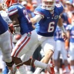 Quarterback Jeff Driskel needs to learn the value of a good play fake.