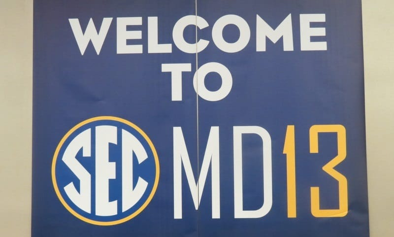SEC Media Days.
